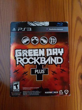 videojuegos consola PS3 green day rock band