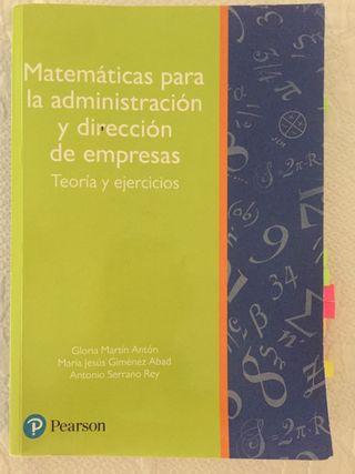 Libro Matematicas ICADE
