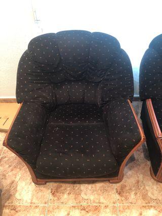 Vendo Dos sillones a 50 cada uno o a 80 los dos.