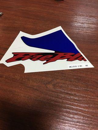 Pegatina adhesivo Honda CBR 900RR