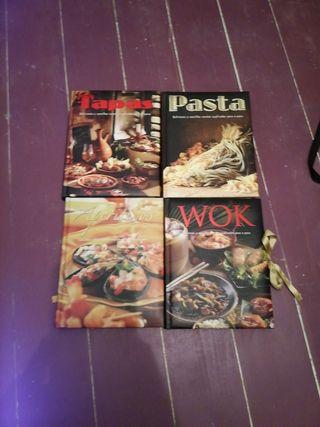 4 Libros cocina recetas