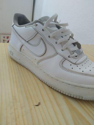 Air force 1 blancas
