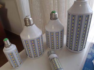 Lote de bombillas Led y de bajo consumo