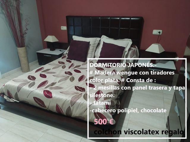 Dormitorio japonés y cama nido