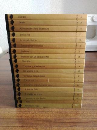 19 LIBRO + DVD CINE ORO.Peliculas inolvidables