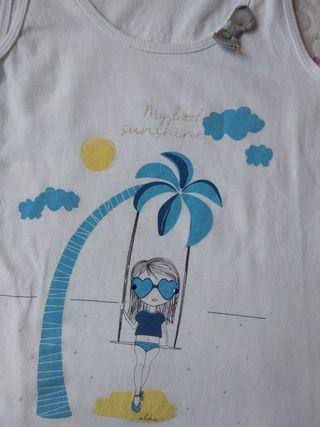 Camiseta tirantes Sfera