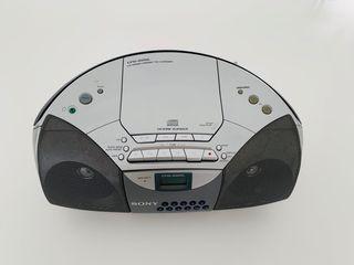 SONY Radio CD Cassette cable eléctrico y pilas