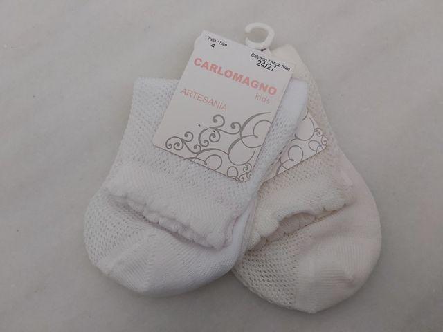 Calcetines de niña, dos pares