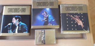 """Libros y DVD """"Canciones de Oro"""""""