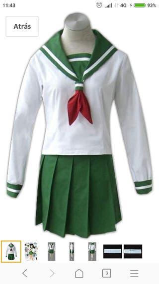 Disfraz Kagome Inuyasha T.M