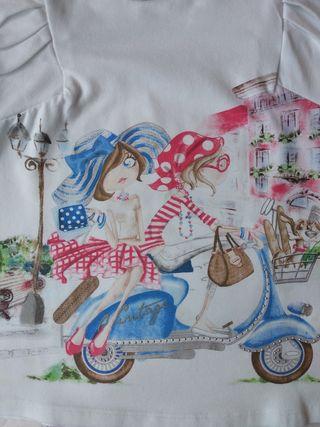 Camiseta Mayoral chicas moto