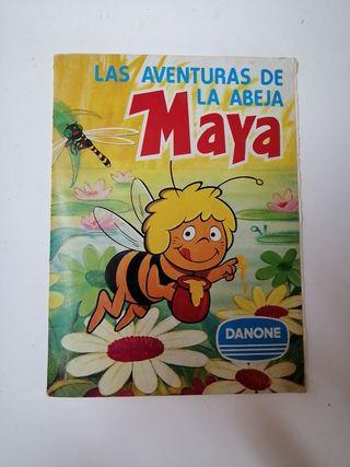 album cromos completo abeja maya