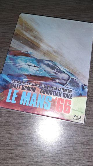 Le Mans'66 steelbook blu-ray