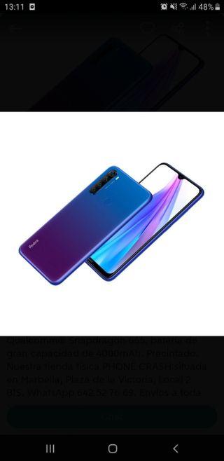 Teléfono móvil XIAOMI REDMI NOTE 8T 64GB STARSCAPE