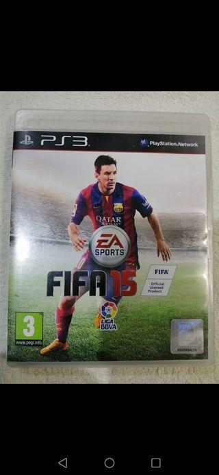 juego FIFA 15 PlayStation 3 impecable