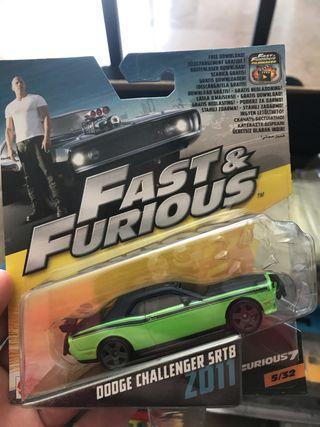 Dodge Challenger STR8 Mattel F&F