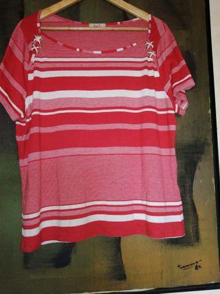 Cuatro Camisas manga corta de señora