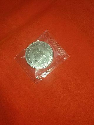 moneda plata de 2000 ptas.