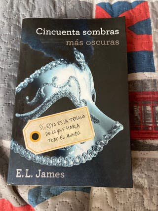 Libro Cincuentas Sombras más oscuras de E.L. James