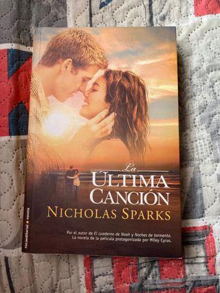 Libro La Última Canción de Nicholas Sparks