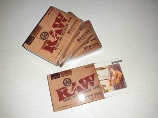 Baraja de cartas RAW