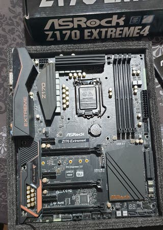 Placa Base Gaming Asrock Z170 Extreme 4