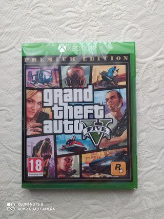 Videojuego XBOX ONE GTA V - GTA Online PRECINTADO