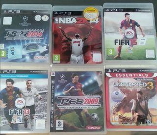 6 juegos ps3