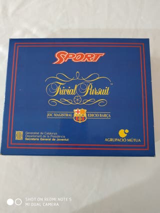 juego Trivial pursuit del 95 edición barca