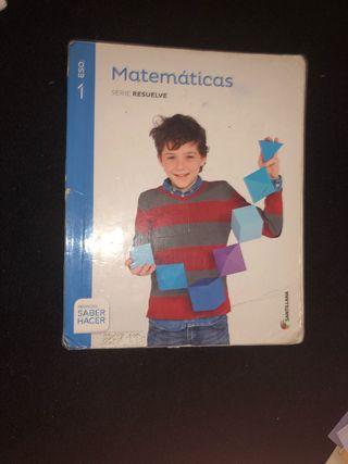 Libro matematicas 1eso santillana