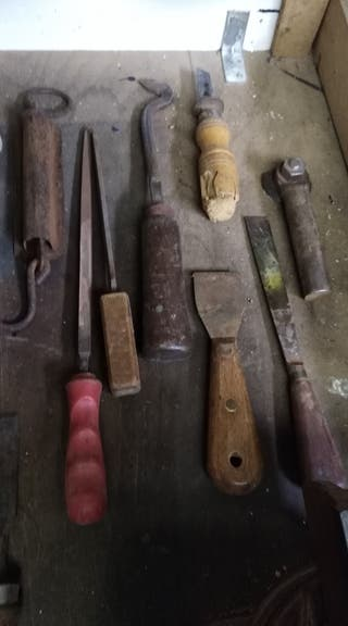 herramientas antiguas de carpinteria