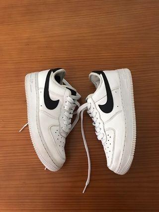 Nike air force 1 blanca & negras