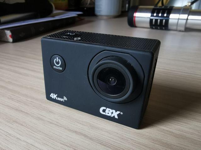 CAMARA DEPORTIVA CBX 4K WIFI tipo go pro