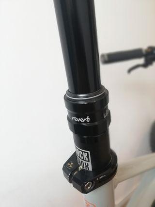 Tija Rockshox Reverb Stealth 170mm 2019 semi nueva