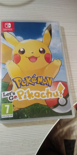 Juego Pokemon Pikachu nintendo switch