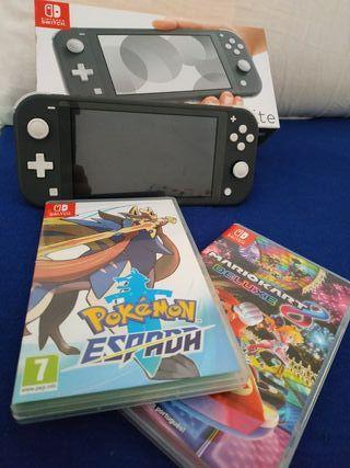Nintendo Switch Lite + 2 juegos