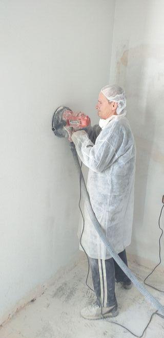 alisamos paredes de gotelé o estuco