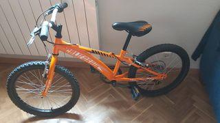 """Bicicleta BH California 20"""" con marchas"""
