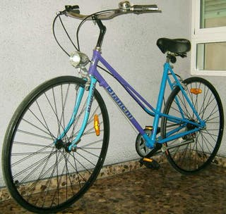 se vende bici de paseo bianchi