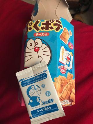 Sobre pegatina sorpresa Doraemon