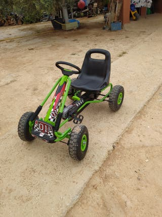 COCHE GO KART A PEDALES