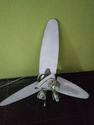 ventilador de techo con luz