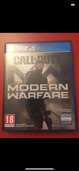 Call of duty: Modern warfare (último)