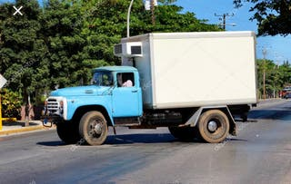 Ruta diaria camion