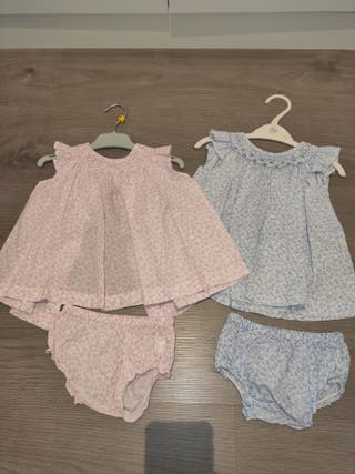 2 vestidos 3-6meses