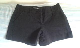 shorts negros talla 36