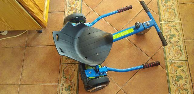 Hoverboard Luxury Sport Negro