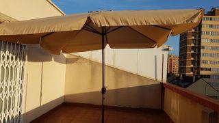 parasol sombrilla terraza sin el pie