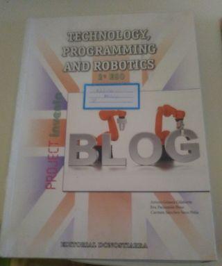 libro de tecnologia y libro de ingles