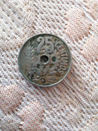 Moneda 25 centimos